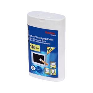 Hama LCD Bildschirm Reinigungstücher -100Stk