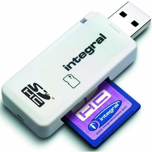 Integral Single Slot SD/SDXC Card Reader