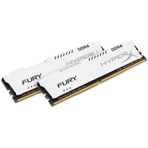 HyperX FURY 8GB (2x4GB) 1333MHz DDR3 Non-ECC CL9 DIMM PC Memory Module - White