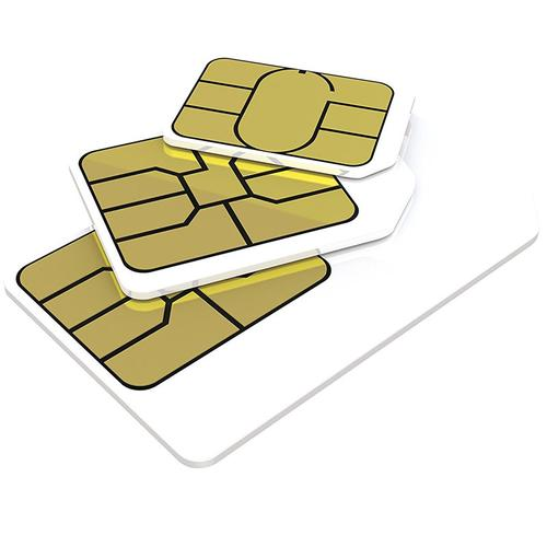 3 PAYG 4G Trio SIM PackAIO15 - 3000 Minutes, 3000 Texts, 5GB Data