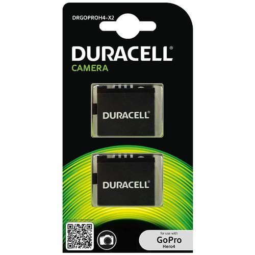 Duracell GoPro Hero 4 Battery - 2 Pack