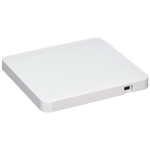 LG Super-Multi Portable DVD Rewriter with M-DISC - White