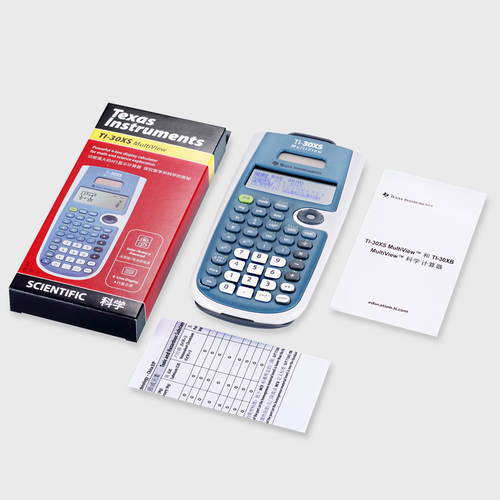 Texas Instruments MultiView Scientific Calculator (TI-30XS)