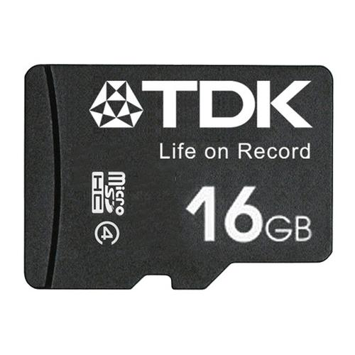 TDK 16GB Micro SD Card (SDHC) + Adapter - 30MB/s - FFP
