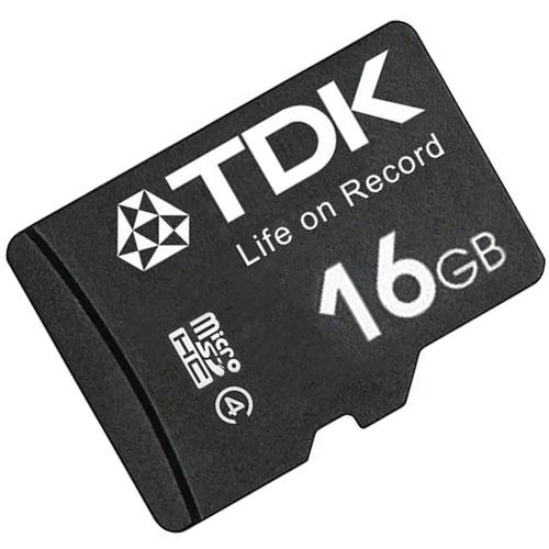TDK 16GB Micro SD Card (SDHC) - 30MB/s FFP