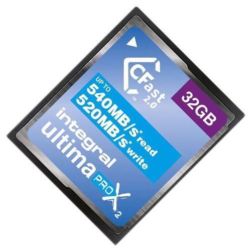 Integral 32GB UltimaPRO-X2 CFast 2.0 Karte - 540MB/s