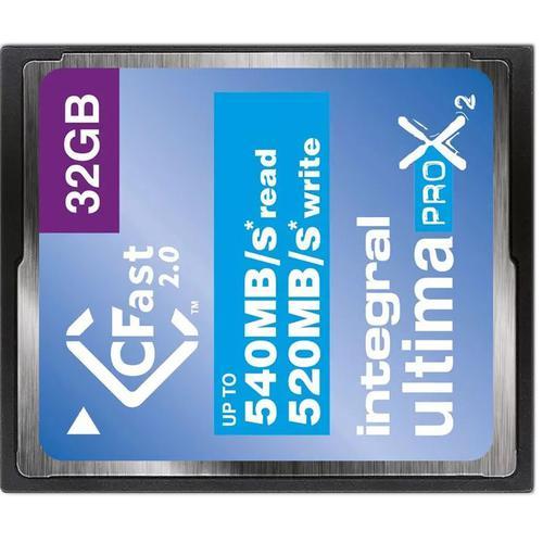 Integral 32GB UltimaPRO-X2 CFast 2.0 Card - 540MB/s