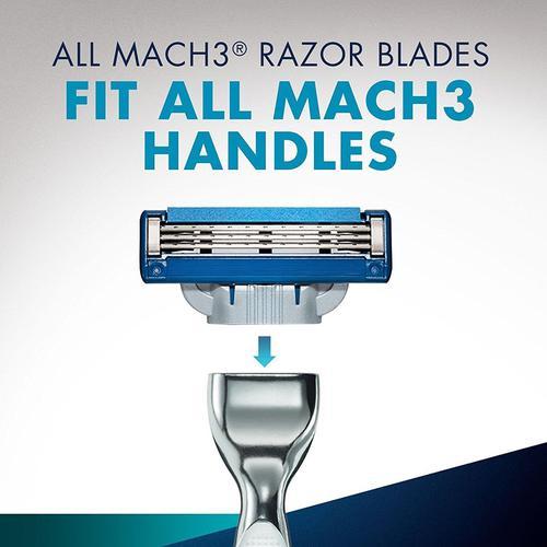 Gillette Mach3 Turbo Men's Razor and Razor Blades