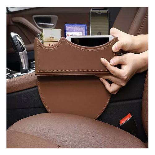 Leather Car Seat Side Pocket Organiser