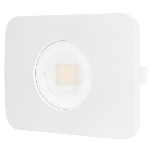 Integral Compact-Tough LED Floodlight IP65 20W (100W) 4000K (Cool White) Gen II Non-Dimmable Lamp - White