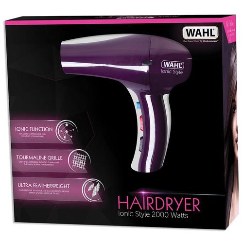 Wahl Professional Ionic Style 2000W Hairdryer - Purple