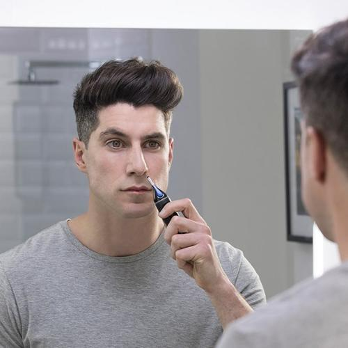 Remington Nose & Ear Precision Facial Hair Trimmer For Men Showerproof Nano Series RE-NE3850