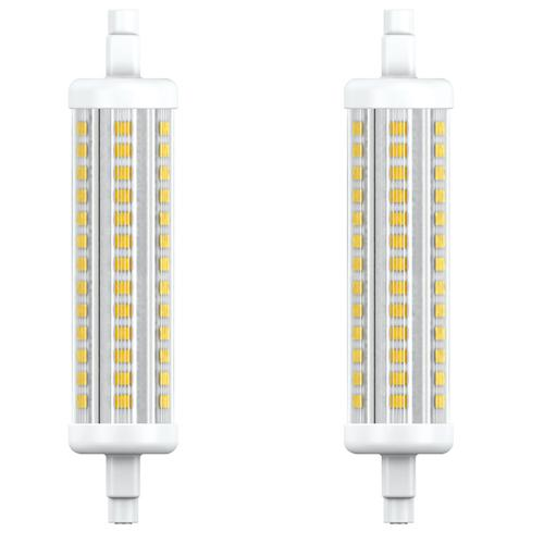 Integral R7S LED Lamp 9.5W (85W) 4000K Non-Dimmable - 2 Pack