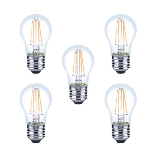 Integral LED Mini Globus aus Glaskolben E27 4.5W (40W) 2700K Dimmbare Lampe - 5er Pack