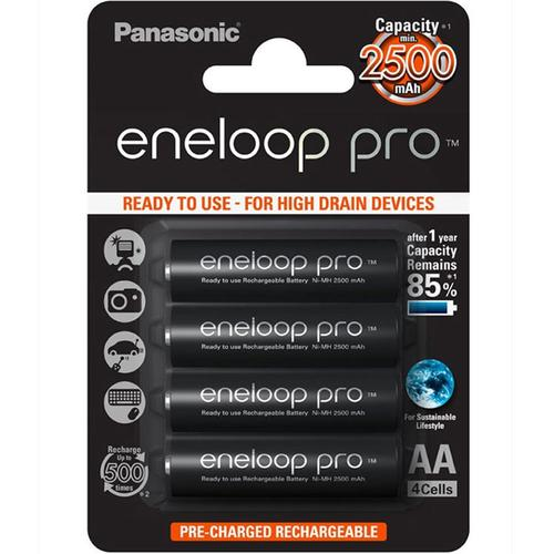 Panasonic Eneloop Pro 2500mAh AA - 4Stck.