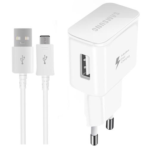 Samsung Galaxy 2A EU Travel Charger + USB-C Cable - White
