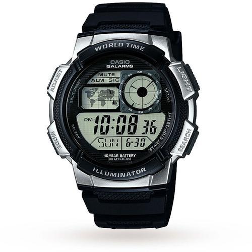Casio Mens Classic Combi Watch - Black