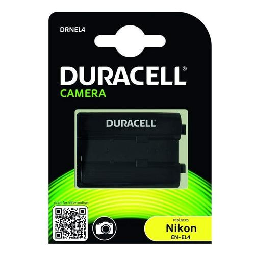 Duracell Nikon EN-EL4 Digital Camera Battery 11.1V 2200mAh