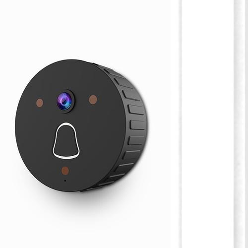 Clever Dog Smart Doorbell Home Security Camera - Black