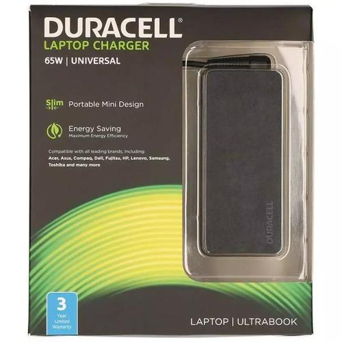 Duracell 65W Universal Laptop AC Adapter