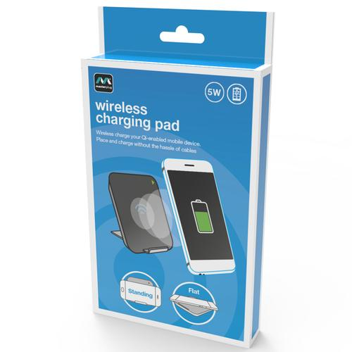 Masterplug 5W Wireless Charging Pad - Black