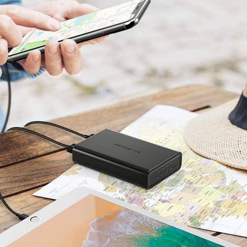 RAVPower 3.4A 10000mAh Portable Power Bank - Black