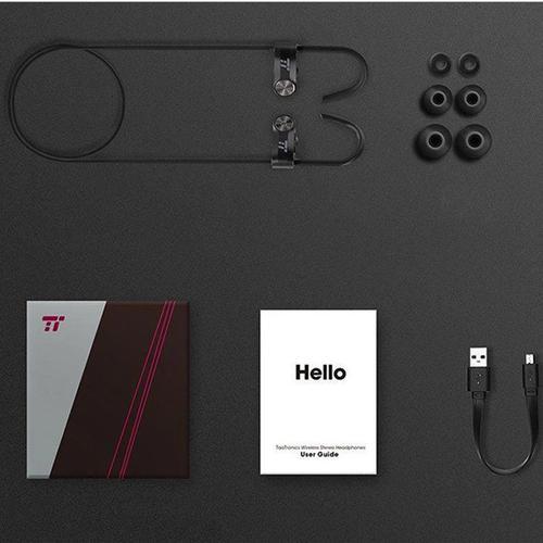 TaoTronics Wireless Stereo Headphones - Black