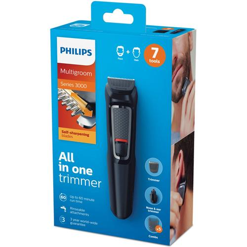 Philips Series 3000 Cordless 7-in-1 Multi Grooming Kit