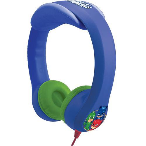 Lexibook PJ Masks Flexible and Unbreakable Headphones