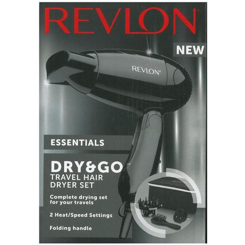 Revlon Essentials Dry & Go Hair Dryer Travel Set
