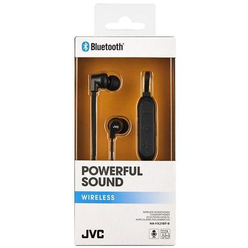 JVC Bluetooth Sports Wireless Earphones - Black