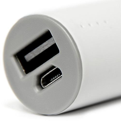 Veho Pebble Ministick 1A 2200mAh Portable Power Bank - White