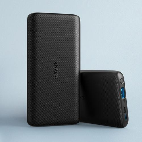 Anker PowerCore Lite 10000mAh Portable Power Bank USB-C Input - Black