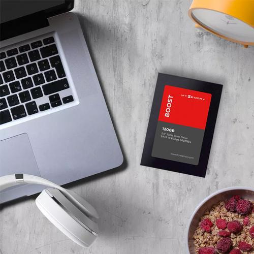 """MyMemory Boost Internal SSD Drive 2.5"""" SATA III 120GB - 560MB/s"""