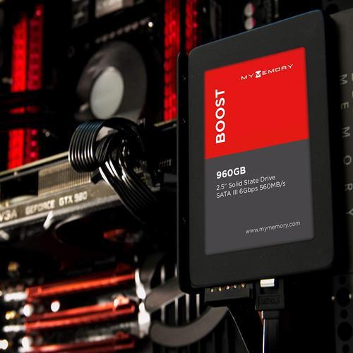 """MyMemory Boost Internal SSD Drive 2.5"""" SATA III 960GB - 560MB/s"""