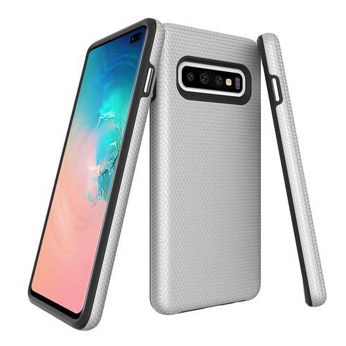 oneo FUSION Samsung Galaxy S10 Plus Case - Silver