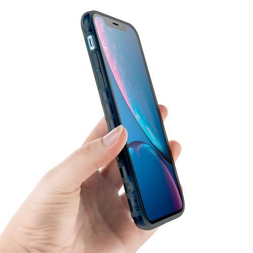 oneo VISION iPhone XR Transparent Case - Dark Grey