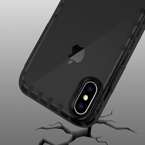 oneo VISION iPhone XS Max Transparent Case - Dark Grey