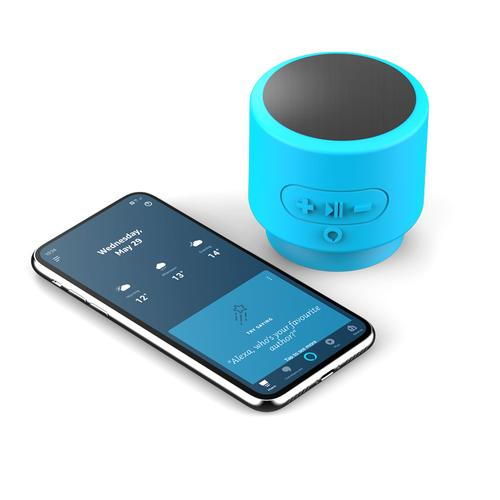 AddOn Apollo Alexa Enabled Wireless Bluetooth Speaker - Turquoise