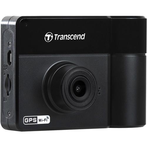 Transcend DrivePro 550 1080p Car Dash Cam + 64GB Micro SDXC Card (Suction Mount)