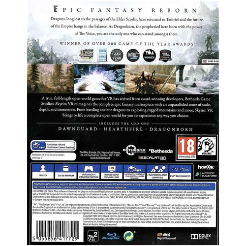 Elder Scrolls V: Skyrim Special Edition (Sony PSVR)