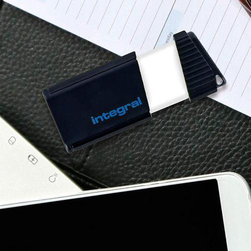 Integral 256GB Pulse USB 3.0 Flash Drive - Black - 170MB/s