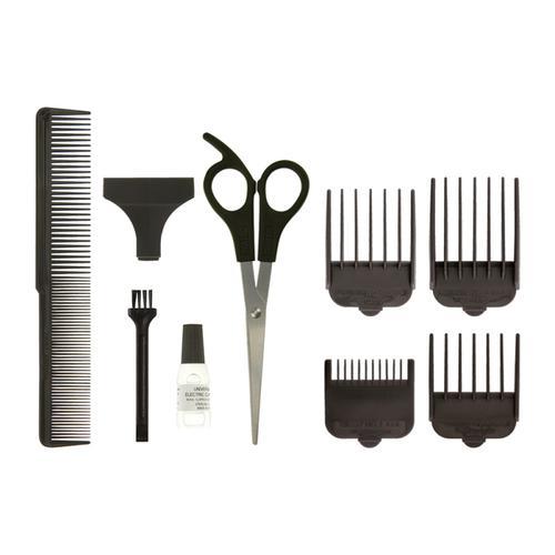 WAHL GroomEase 100 Series Hair Clipper - Burgundy