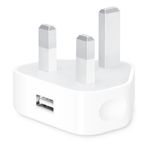 Apple 5W Travel Charger + Lightning Cable - White