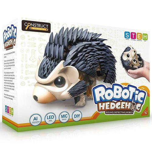 Robotic Hedgehog AI Interactive Sound Detecting Robot