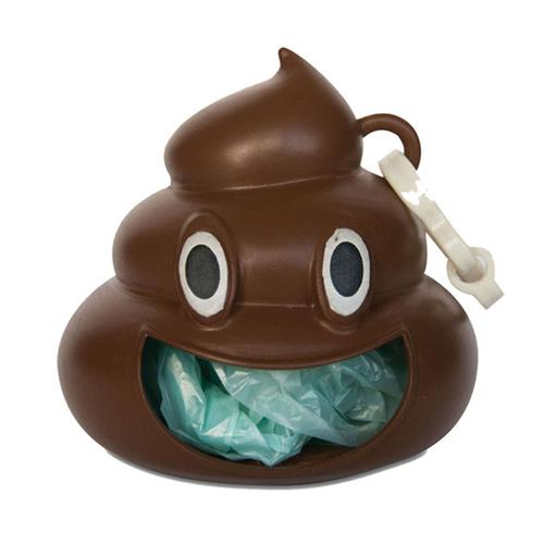 Emoji Poo - Dog Waste Bag Holder