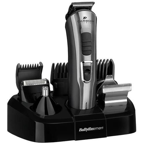 BaByliss Carbon Titanium 10 in 1 Face & Body Grooming Kit