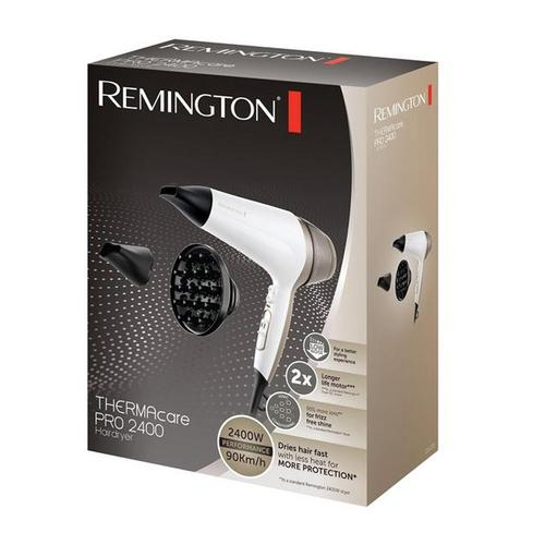 Remington THERMAcare Pro 2400 Hairdryer + Diffuser