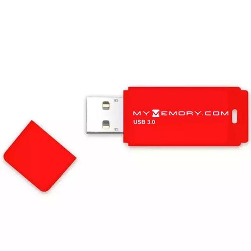MyMemory 64GB USB 3.0 Flash Drive - 80MB/s - Red - 2 Pack