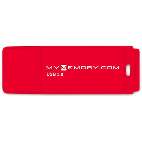 MyMemory 64GB 80MB/s USB 3.0 Flash-Laufwerk - Rot - 2er Pack